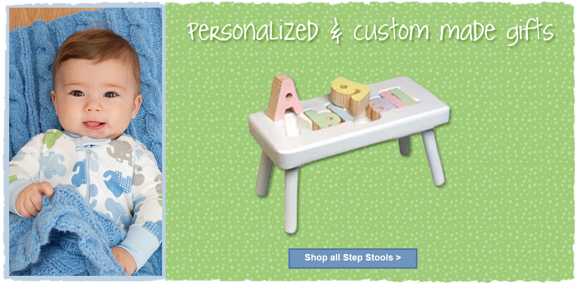 Personalized Baby Keepsake Gifts Online Step Stools Amp More